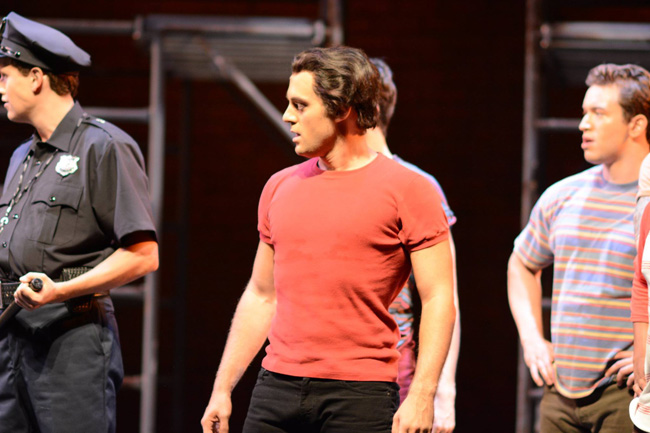 Bernardo - West Side Story - Seagle Music Colony - 2014